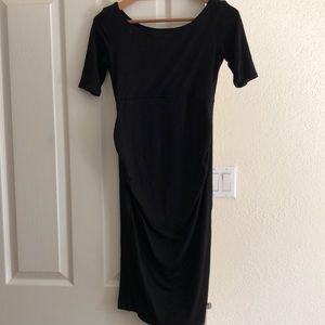 🤰ASOS Black Maternity Dress